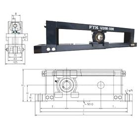 المحامل UCTU315-700 FYH